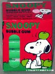 Snoopy Green Apple Bubble Gum