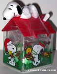 Peanuts & Snoopy Candy in Dog Houses & Dog Dishes
