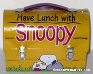 Have Lunch with Snoopy Domed lunchbox