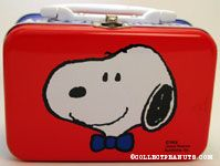 Snoopy wearing bow tie portrait Lunch Box
