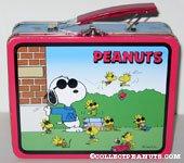 Joe Cool and Woodstock Lunch Box