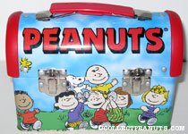 Peanuts Gang carrying Charlie Brown and Snoopy Domed Lunchbox