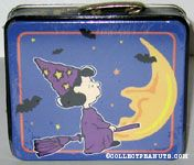 Lucy as Witch on broomstick Lunchbox