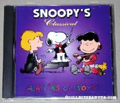 Snoopy's Classiks on Toys Classical CD