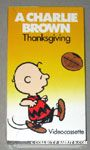 A Charlie Brown Thanksgiving VHS Video