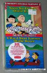 You're Not Elected, Charlie Brown VHS Video