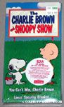 The Charlie Brown and Snoopy Show VHS Video