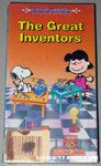 This is America, Charlie Brown - The Great Inventors VHS Video