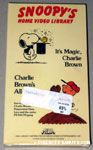Snoopy's Home Video Library - It's Magic, Charlie Brown - Charlie Brown's All-stars Beta Video