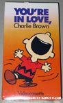 You're in Love, Charlie Brown VHS Video