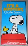 It's a Mystery, Charlie Brown VHS Video