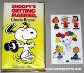 Snoopy's Getting Married, Charlie Brown VHS Video