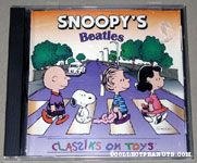 Snoopy's Classiks on Toys Beatles CD
