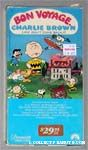 Bon Voyage, Charlie Brown VHS Video