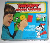 Peanuts & Snoopy Movie Viewers & Cartridges