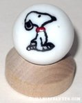 Snoopy sitting Marble