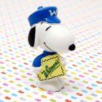Snoopy mailman delivering Whitman's Chocolates Figurine