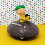 Charlie Brown on Pitcher's Mound Friction Car