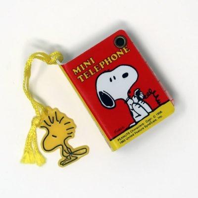 Snoopy Mini Telephone Book