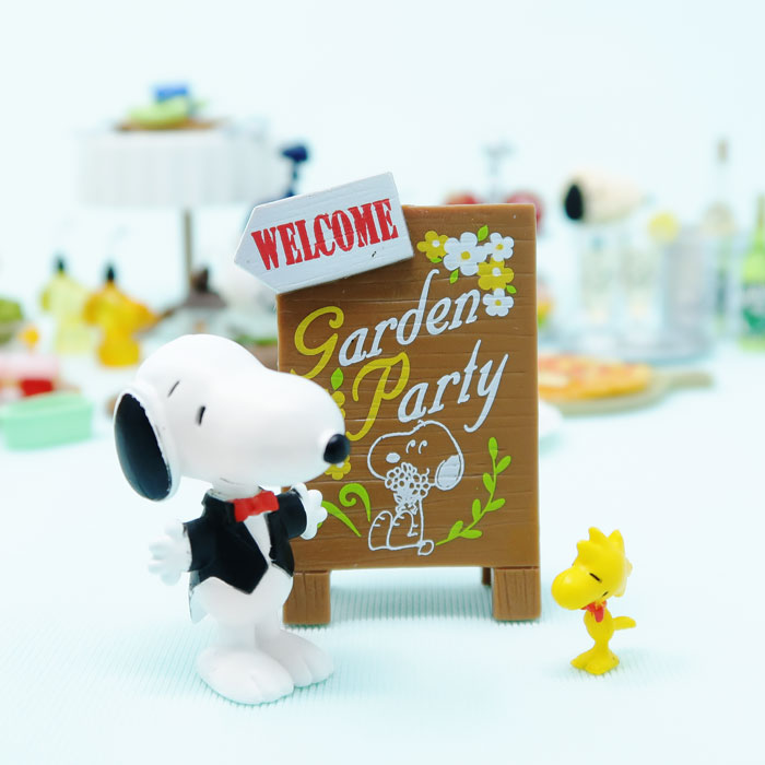 Snoopy's Garden Party Miniatures