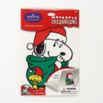 Santa Snoopy Moveable Decoration