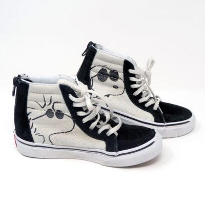 Snoopy Joe Cool and Woodstock Hi-top Shoes