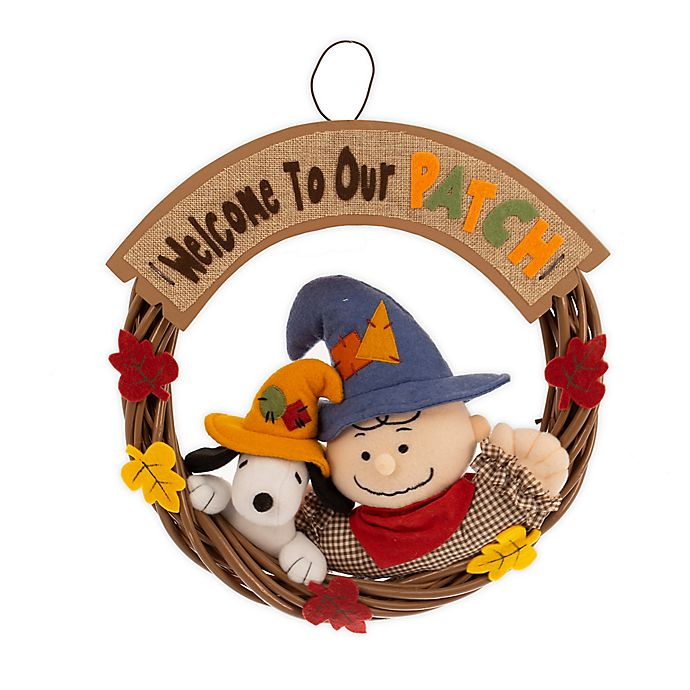 Snoopy Fall Decor