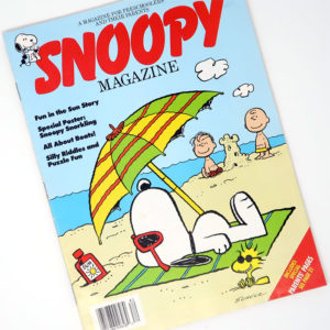 Snoopy Magazine - Summer 1988