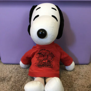 Snoopy Rag Doll