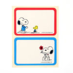 Snoopy Suit and Snoopy Flower Name Tags