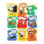 Peanuts Vintage Reward Stickers