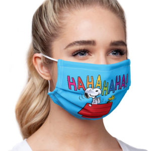 Official Peanuts & Snoopy Face Masks