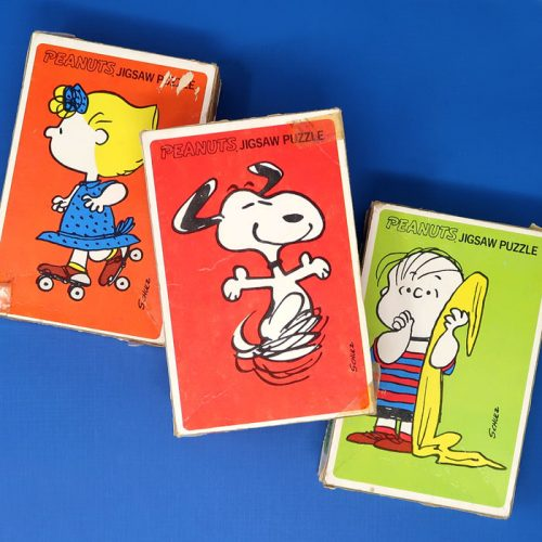 Sally, Linus and Snoopy Mini Puzzle Set