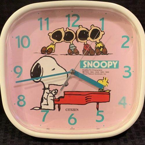 Snoopy Citizen Clock