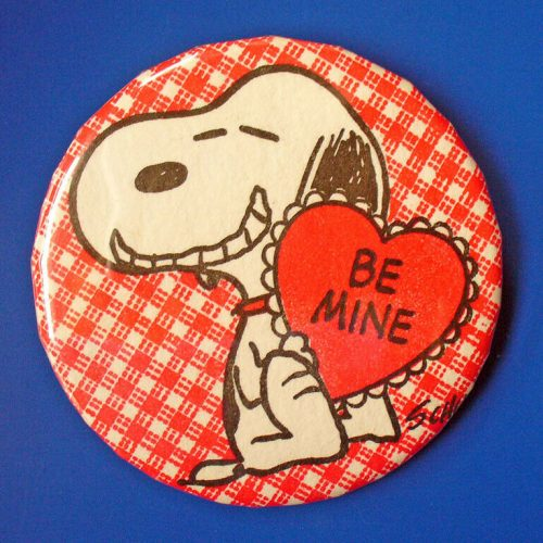 Snoopy Badge-a-Minit Button
